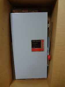 Cutler Hammer Eaton Dh364fgk 200 Amp 600v 3 Phase Fused Safety Switch Disconnect