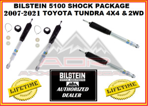 Bilstein 5100 Series Monotube Shocks For 2007 2019 Tundra 4x4 2wd Front Rear