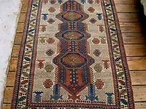 1900 Amazing Caucasian Shirvan Rug Fine Knots You Must See