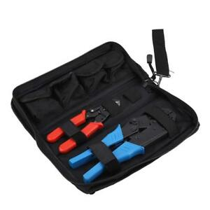Multifunctional Hand Crimping Tool Kit Terminals And Connectors Cable Cutter Set