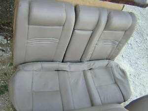 00 Ford Contour Svt Tan Leather Rear Seat