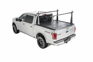Bakflip Cs Truck Bed Cover W Rack For 05 15 Tacoma 5ft W Deck Rail Sys 26406bt