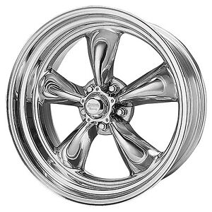 2 American Racing Torque Thrust Ii Wheels Torq Vn515 17x8 Ford Mopar 7866
