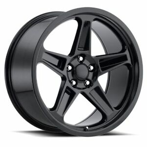 4 20 Staggered Demon Srt Style Gloss Black Challenger 300c Charger Wheels Rims
