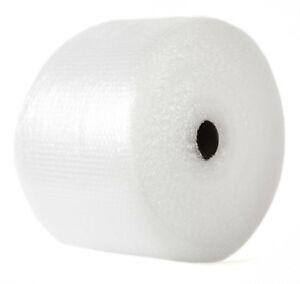 Small 3 16 Inch Bubble Cushioning Wrap Slit 12 By 12 Perf Roll