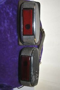 1941 Ford Left And Right Turn Lights Lens Chrome Housing Parts 1930 s 1940 s