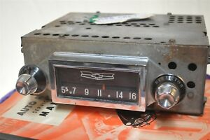 1958 Chevy Chevrolet Car Old Classic Chrome Factory Radio 987724 1950 s
