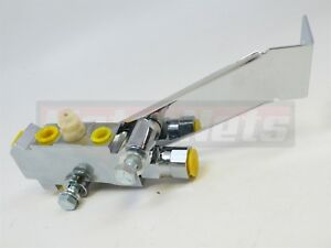 Chrome Disc Disc Proportioning Valve Bracket Master Cylinder Booster Gm Chevy