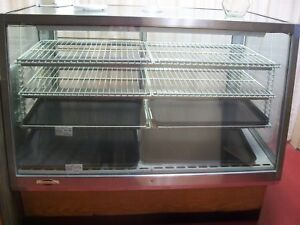Older Model Used 58 longx35 deepx50 tall refrigerated Bakery Display Case