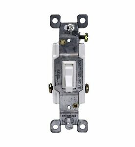 Illuminated Spdt Toggle Switch Heavy Duty 3 way single Pole 15a Amp 10 Pack