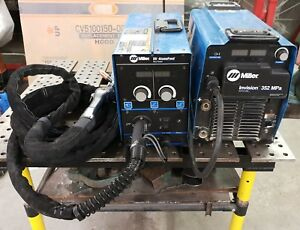Miller Invision 352 Mpa Synergic Pulse Push pull Mig Welder s 74 Not Included