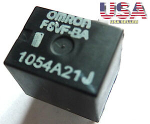 1 Omron F8vf Ba O E M Ford Fuel Pump Relay R303 303 12v