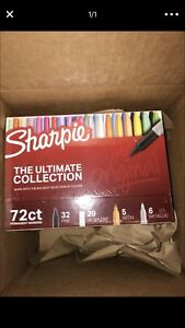 Sharpie 72 Count Ultimate Collection Fine ultra Point Markers Pack Assrtd Colors
