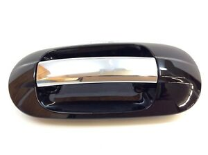 07 17 Lincoln Navigator Ford Expedition Left Rear Outside Chrome Door Handle Oem