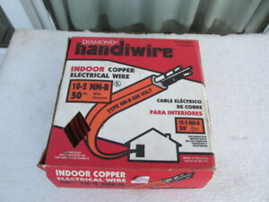 Exxex Diamond Handiwire 50 10 2 W ground Nm b Romex Orange Residential Indoor