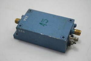 Microwave Rf Power Amplifier 900 1500mhz 30db Gain 2dbm Tested
