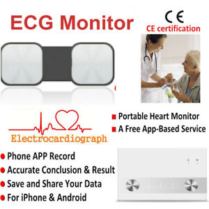 E h09 19 Ecg ekg Machine Electrocardiograph Monitor App For Iphone Android Phone