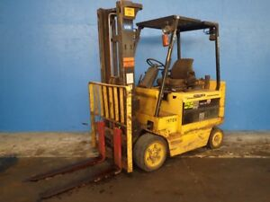 Hyster Erc080hg Electric Forklift 8000 Lbs 02180272508