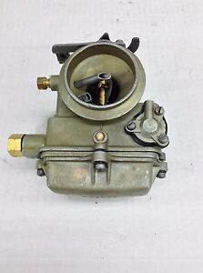 Holley 1904 Carburetor 1958 1962 Ford Cars 215 223 Engine Hand Choke