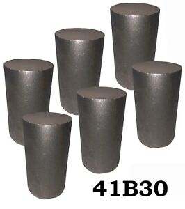 2 75 Round 4130 Steel Alloy boron Rolled Bar Billets 6 5 6 Long 41b30 H