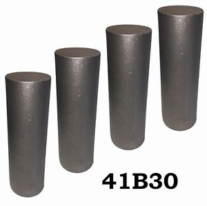 2 75 Round 4130 Steel Alloy boron Rolled Bar Billets 4 7 8 Long 41b30 H