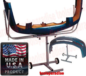Auto Body Bumper Holder Hanging Caddy Stand Painting Rack Support
