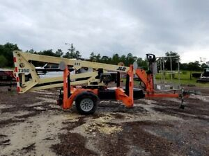 Jlg T350 Tow Behind Man Lift 35 Ft Towable Articulating Boom Lift Ready To Work