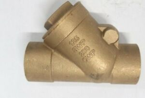 Nibco Brass Y strainer 125swp 200cwp 2
