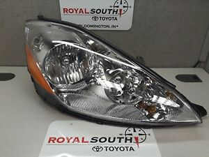 Toyota Sienna 2006 2010 Right Front Headlight Lamp Genuine Oem Oe