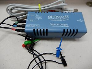 Optascope Digital Real Time Oscilloscope Computer Based Parallax Software