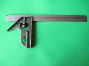 Vintage Mitutoyo No 180 501 12 Combination Square Machinist Tool Made In Japan