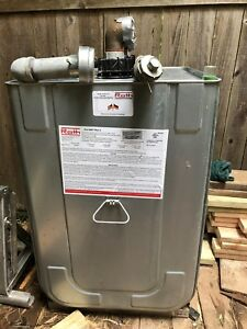 Roth Type 400l 110 Gallons Double Wall Heating Oil Fuel Storage Tank Used