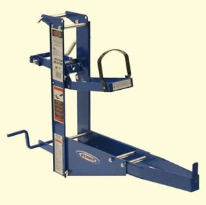Pump Jack For Up To 24 In Wide Plank Steel Pump Jack W Hand Crank