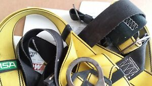 Msa Fall Protection Workman Construction Harness Standard Size