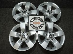 Dodge Ram 1500 17 Factory Oe Alum Wheels 17x7 2002 2018 Great Shape Winter Time