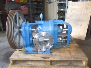 Tuthill 600 Stainless 6 Process Pump 720929j Sn c 2683 Turns By Hand Used