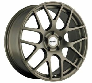 17x7 5 Tsw Nurburgring 5x114 3 Rims 45 Matte Bronze Wheels Set Of 4