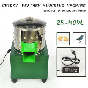 New Small Chicken Dove Feather Plucking Machine Poultry Plucker Birds Depilator