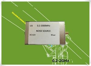 0 2 2000m Noise Source Signal Generator Spectrum Tracking Signal Source