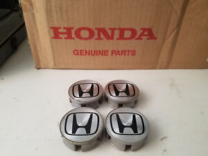 4 Genuine Oem 01 05 Honda Civic Si Integra Gsr Blades Ls Center Caps Size 2 25