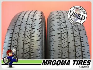 2 Hankook Dynapro At 235 75 17 Used Tires No Patch Ford Free Mounting 2357517