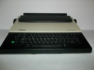 Brother Ce 222 Compactronic I Electronic Typewriter Used Good Condition