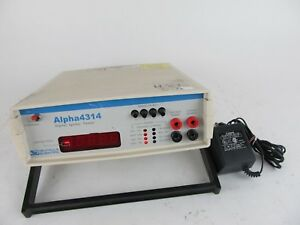 Valhalla Scientific Alpha 4314 Digital Ignitor Tester W Power Adapter