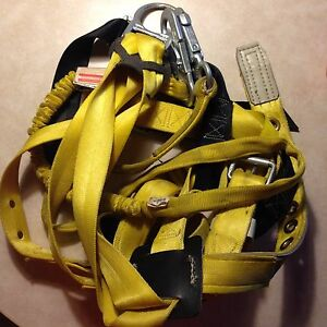Miller Manyard Harness model 8095 And 6 Lanyard model 216wls Combination
