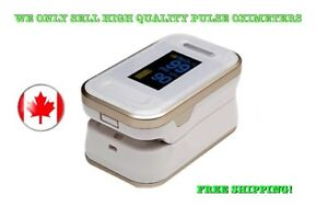 Finger Tip Pulse Oximeter Spo2 Heart Rate Monitor Blood Oxygen Meter Canada