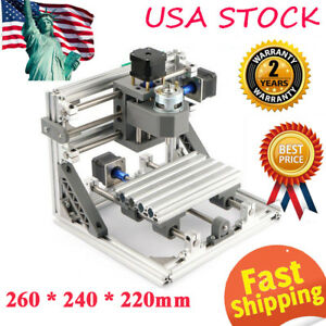 Mini 3 axis Cnc 1610 Router Engraver Diy Carving Machine For Pcb Pvc Milling