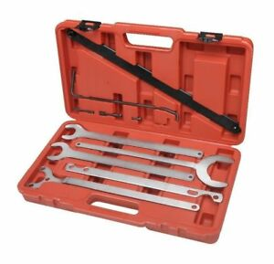 Mercedes Benz bmw Fan Clutch Service Water Pump Holder Wrench Service Tool Set