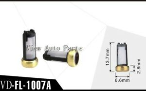 500 Of Pack Fuel Injector Micro Basket Filter For Ford Car Marelli Weber Asnu04c