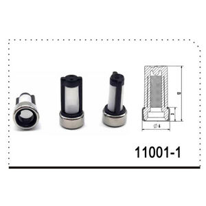 500 Pcs Fuel Injector Nozzle Micro Filter For Repair Kit Stainless Steel