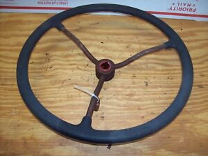 Farmall Cub Ih Steering Wheel With Nut